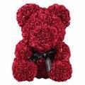 Rose Bär Blume Hochzeit Party Dekorationen Freundin Jahrestag Weihnachten Valentinstag Geschenk Geburtstag Geschenk Für Kinder Drop