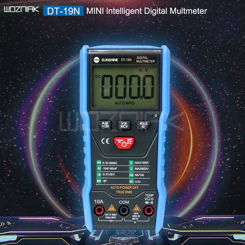 Latest Multimeter SUNSHINE DT-19N Mini Smart Multimeter Range Mobile Phone Repair Dedicated
