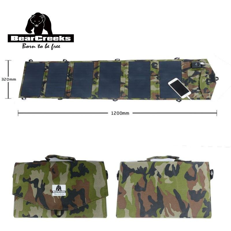 40 W 12 V panneau solaire chargeur USB Camping Randonnée Mobile USB Rechargeable Portatif Extérieur Téléphone alimentation Outils Extérieurs