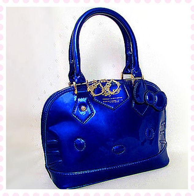 New Hello kitty Tote Shoulder Bag Handbag Purse yey 3120BU -in ... 0c58ac4c36