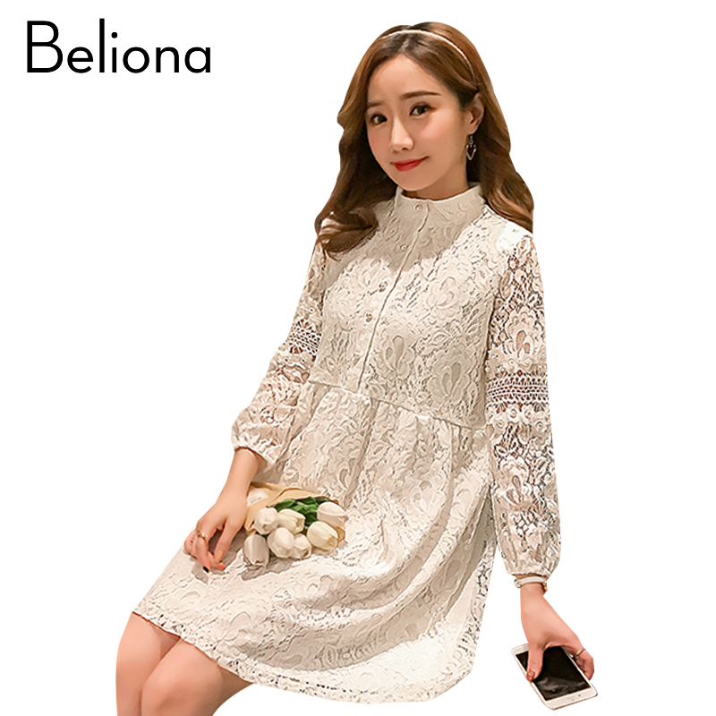 Fashion Lace Maternity Clothes Casual Pregnancy Dress Fashion Spring Maternity Clothing Of Pregnant Women 2018