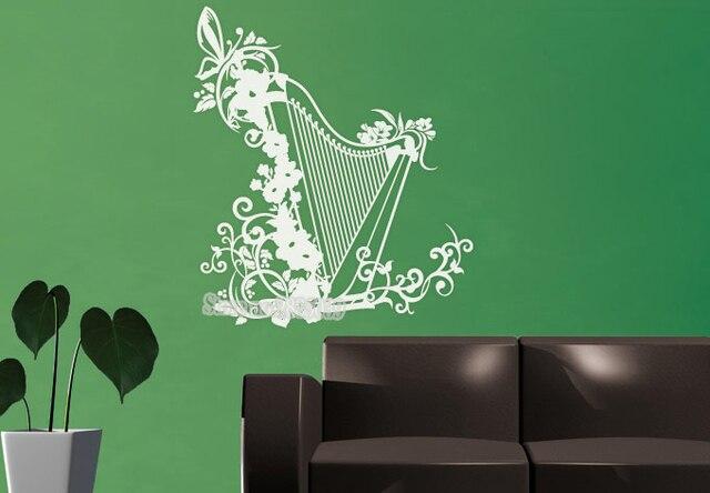 aliexpress.com : acquista irish arpa design creativo decal unico ... - Camera Da Letto Diy