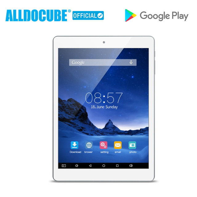 ALLDOCUBE iplay8 7.85 inch Android6.0 MTK MT8163 Quad Core 1GB 16GB 1024*768 IPS Tablet PC Dual Wifi 2.4G/5G Micro HDMI GPS New