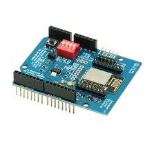 Esp8266 ESP 12E uart wifi placa de desenvolvimento, sem fio escudo placa de desenvolvimento para arduino uno r3 placas de circuito módulos um