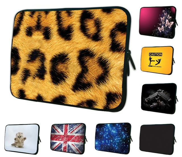 ac35317250f7 Leopard Tablet Sleeve Case Bag Pouch Cover Funda Tablet 7 Pocketbook Case  For iPad Mini 2 3 7