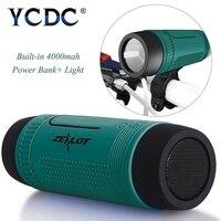 YCDC Bluetooth Speaker Zealot S1 Multi Function Outdoor Sport Stereo Wireless Bluetooth Speaker LED Flashlight 4000mAh