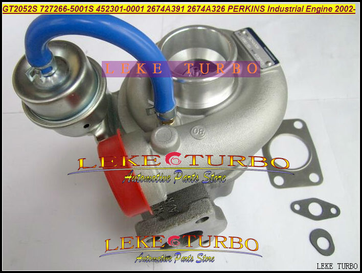 Gt2052s 727266-5001s 452301-0001 2674a391 2674a326 727266 452301 turbo turbocharger for perkin indust