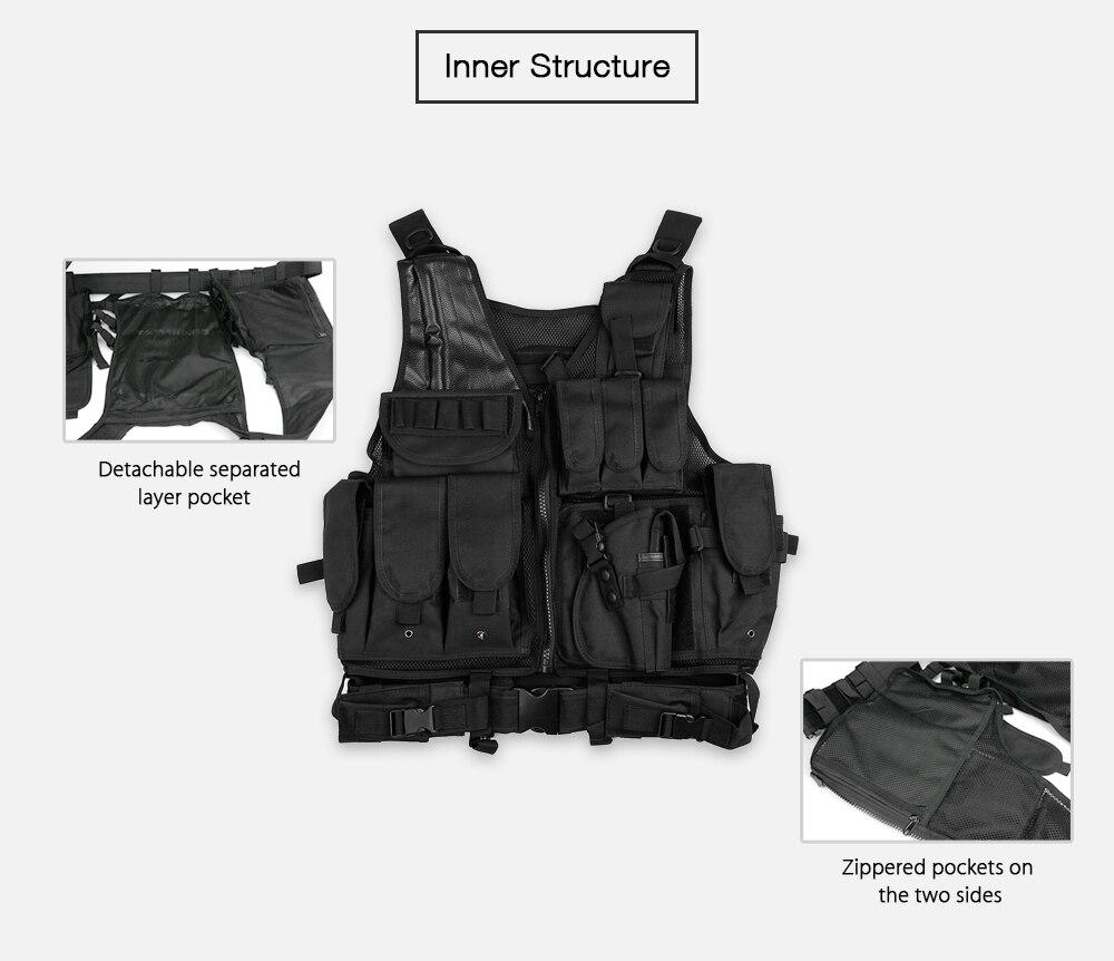 military tactical vest