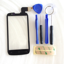 For S4502 Touch Screen Digitizer For DNS S4502 DNS-S4502 S4502M Highscreen boost Cloudfone Thrill430X innos D9 D9C + tools