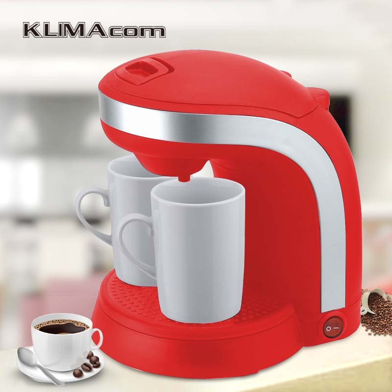 Mini Automatic Pod Drip Coffee Machine Desktop Cafe Home 220-240 Volt Electric 2 cup Kaffee Maker kitchen appliances cukyi electric automatic hourglass coffee maker drip cafe american coffee machine white