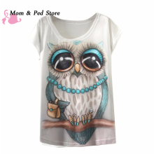 Fashion Vintage Summer T Shirt Women Clothing Tops