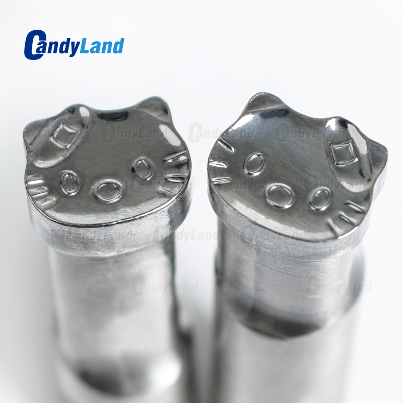 CandyLand HK Cat Milk Tablet Die 3D Punch Press Mold Candy Punching Die Custom Logo Calcium