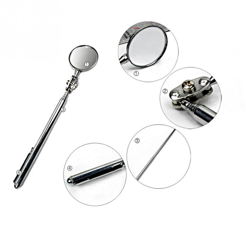 Large and Small  engine chassis detection mirror, Telescoping Inspection mirror automobile repair tools
