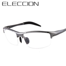 ELECCION Brand Prescription Men Glasses Frame Aluminium Magnesium Alloy Spectacle Eyeglasses Myopia sports goggles