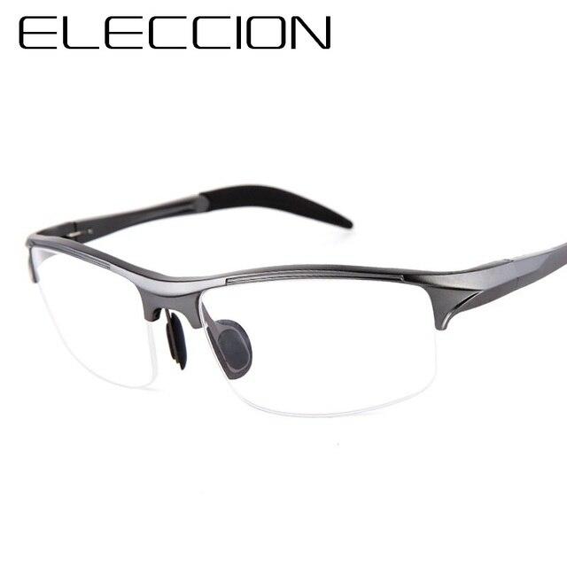 ELECCION מותג מרשם גברים משקפיים מסגרת אלומיניום מגנזיום סגסוגת מסגרת משקפיים משקפיים קוצר ראיה משקפיים ספורט משקפי