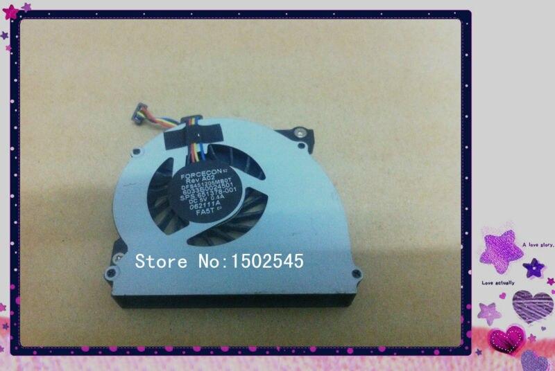 Laptop Accessories Free Shipping Original Laptop Cpu Fan Cooling Fan For Hp Elitebook 2560 2570 2560p 2570p 651378-001 Notebook Cpu Fan Nourishing Blood And Adjusting Spirit