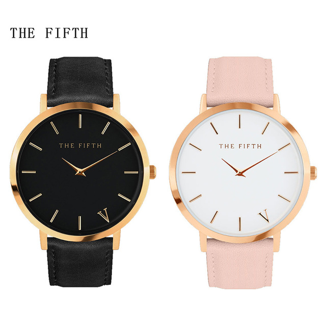 Ladies Fashion Quartz Watch Women Leather Casual Dress Women's Watch Rose Gold reloje mujer 2016 montre femme tezer ladies fashion quartz watch women leather casual dress watches rose gold crystal relojes mujer montre femme ab2004