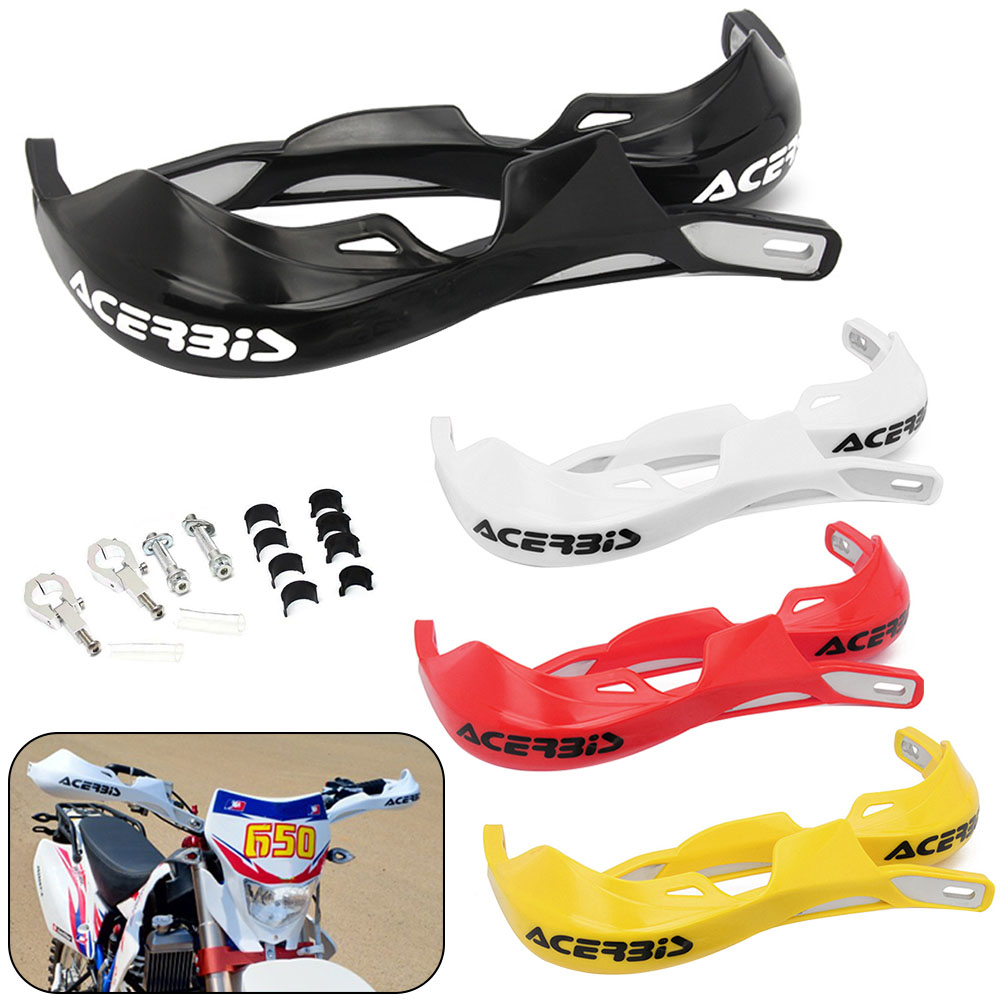 Image 4 - 1 Pair Motorcycle 22mm 28mm Handlebar Hand Guards Handguard Protector Motocross Dirt Pit Bike Off Road-in Falling Protection from Automobiles & Motorcycles