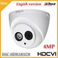 4MP Dahua HDCVI Camera WDR IR Eyeball Security Camera IR Distance 50M Indoor Outdoor IP67 Smart IR HD SD dual-output CCTV camera