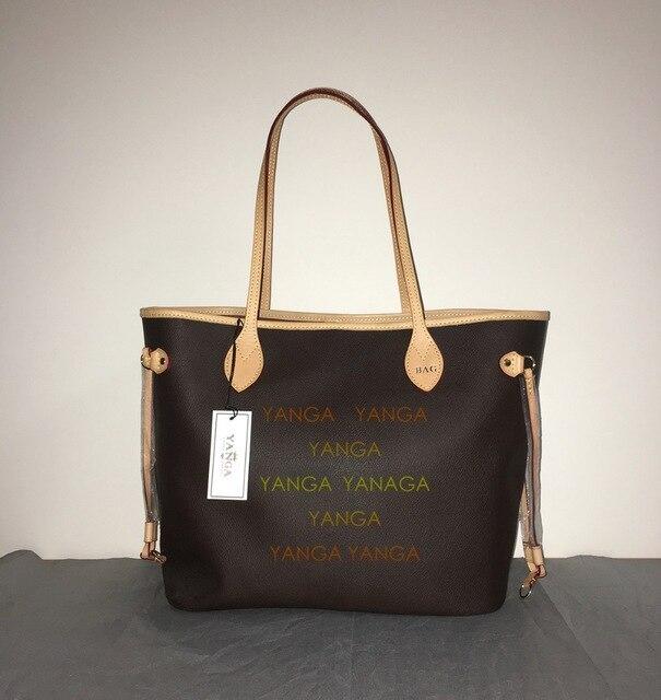 Classic women bags Genuine Leather fashion shopping bags women shoulder bags Freeshipping