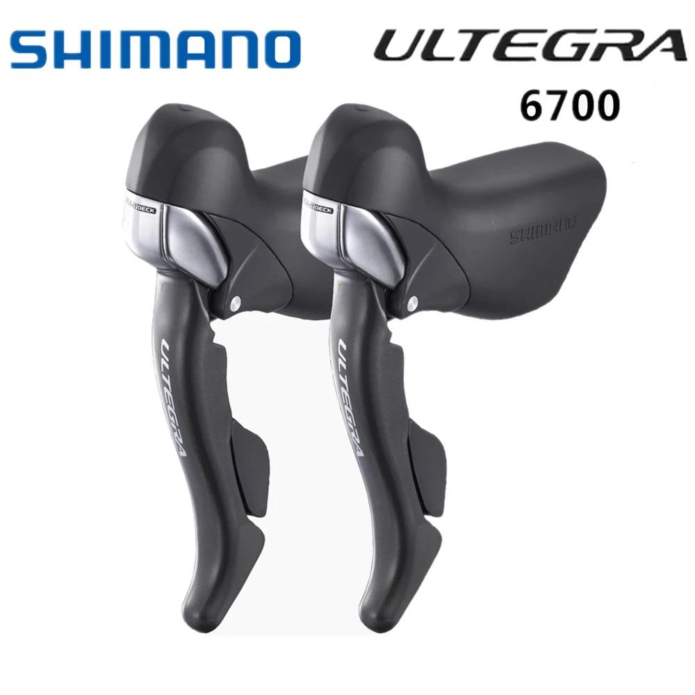 Shimano st-6700 Ultegra Sti pommeau métamorphes Boutons-Levier de frein droit 10 positions