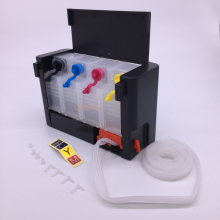 4 цвета Роскошный Танк Универсальный DIY СНПЧ аналогичный бак с переключателем для Epson Canon HP Brother 100 мл Внешний резервуар для чернил система