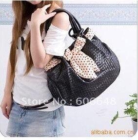 free shipping,high quality Hand-woven hangbag/Elegant Scarf ladies bag/Star's favorite Pastoral shoulder bag
