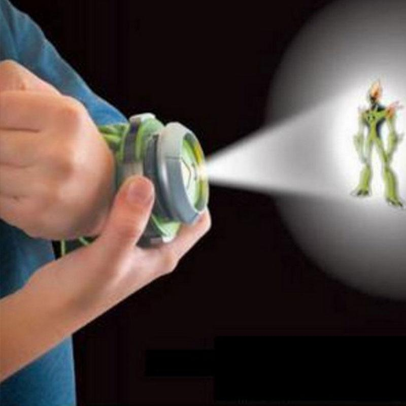 Ben 10 Projector Watch Toy Ben 10 Projector Birthday Gifts Kids Children With 3 Projection Disc Black And Green