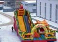 (China Guangzhou) manufacturers selling inflatable slides, inflatable castles,  The new slide CB-85