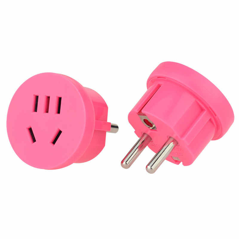 US AU to EU Euro Europe Wall charger AC Power Socket Plug Travel Charger Adapter Converter
