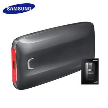 Samsung SSD External X5 2TB 1TB 500GB External Solid State HDD Hard Drive Thunderbolt 3 (40Gbps) and backward compatible Phone
