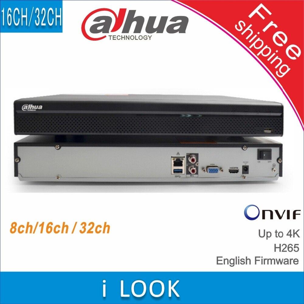 Free shipping Dahua 8CH 16CH 32CH NVR4216 HDS2 NVR4232 HDS2 replace NVR4208 4KS2 NVR4216 4KS2 NVR4232