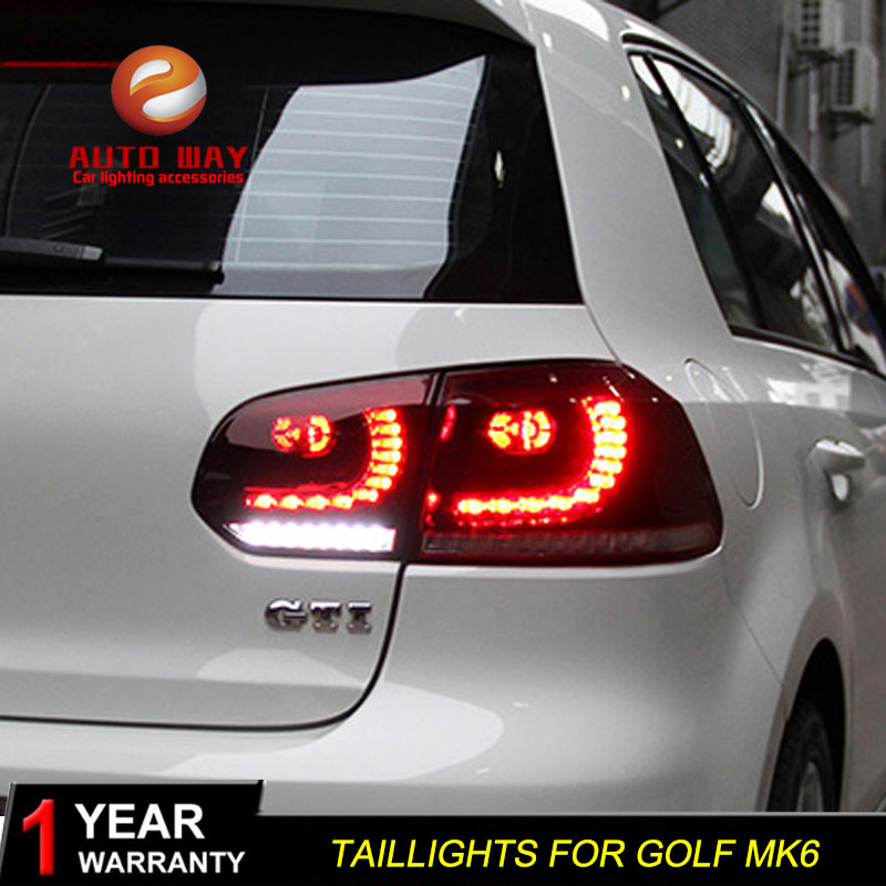 Car Styling tuning cars Tail lights For VW Golf 6 Golf6 MK6 R20 Taillights LED DRL