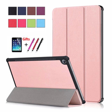 Slim Magnetic Folding Flip PU case M5 10 pro Tablet PC Protective Case For Huawei MediaPad 10.8 CRM-AL09 CRM-W09 CMR-W19