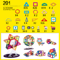 CL-8/158pcs/lot Magnetic Models Building Blocks Construction Toys DIY 3D Magnetic Designer Learning Educational Bricks Kids Toys