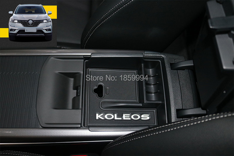 For 2017 2018 RENAULT KOLEOS Second Generation Armrest Center Storage Box Container Glove
