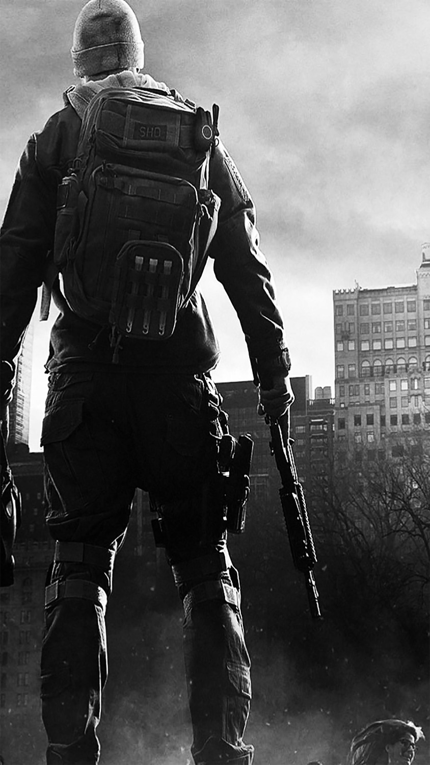 2017 New Arrival Tom Clancys The Division Art Canvas Poster Canvas Print New Shooting Game Pictures for Home Wall Decor image