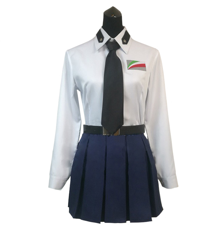 2018 Girls And Panzer Anzio High School Pepperoni Anchovy Carpaccio Cosplay Costume
