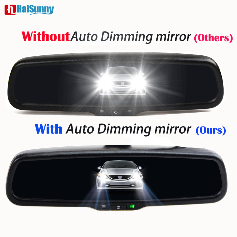 Professional Car Auto-dimming Interior Rear view Mirror For Ford Focus Toyota Ca