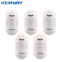Kervay 433mhz Wireless PIR Motion Sensor Support USB Power Supply Interlligent Security Infrared Detector For Our
