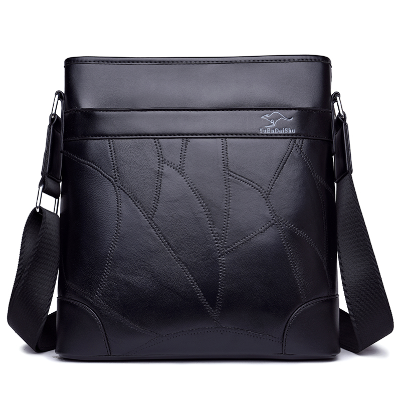 2018 Men Messenger Bags Genuine Leather High Quality Man Handbags Fashion Male Briefcase Casual Shoulder Bag Men's Travel Bags все цены
