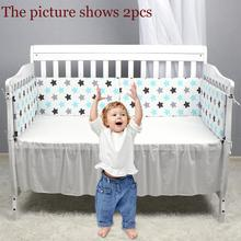 1Pcs Newborn Baby Safety Bed Fence Washable Guardrail Kids Playpen Crib Bumpers Infant Child Care Barrier Protector for Beds lift type baby bed rail baby bed safety guardrail upgrade cot playpen security for children bed fence fit for all type bed