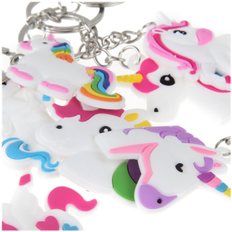 Cute-Fairytale-PVC-Unicorn-Keychain-Party-Favors-Multi-style-Horse-Key-Holder-for-Girls-Christmas-Gift (1)