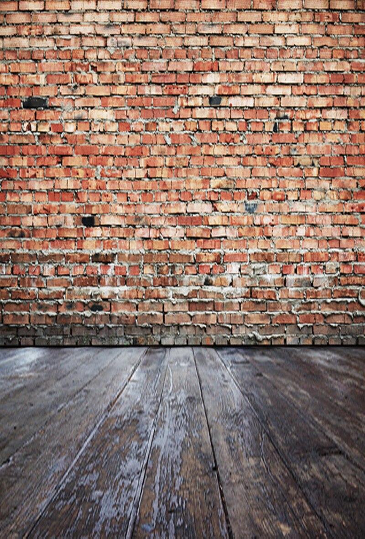 6122 Red Brick Wall Backdrop Christmas