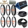 KnightX уф-фильтр 67 мм 52 мм Звезда макро объектив 62 мм Комплект для Canon 550d 100d 1100d 600d Nikon d5300 d7200 Sony Digital камера