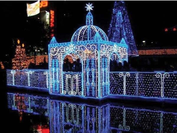 Aliexpress.com : Buy 1.5x1.5m Christmas Lights Blue LED Wedding ...