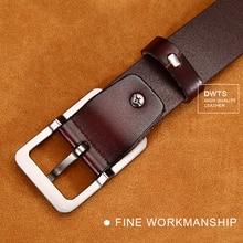 Luxury Genuine Leather Pin Buckle Belt