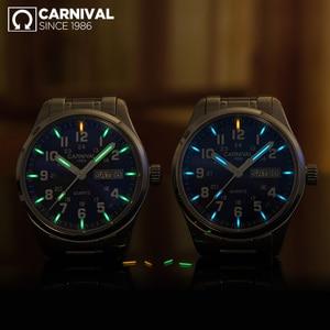 Image 3 - CarnivalกีฬาT25 Tritium Luminous Menนาฬิกาควอตซ์ยี่ห้อLuxuryนาฬิกาข้อมือผู้ชายนาฬิกาSaat Reloj Hombreแฟชั่นMontre
