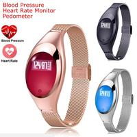 Slimy Fashion Z18 Smart Watch IP67 Waterproof Women Gift Smart Band Bracelet Sports SmartBand Pedometer Heart