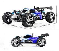 LeadingStar Wltoys A959 Vortex 1/18 2.4G 4WD Electric RC Car Off Road Independent Suspension Buggy RTR Blue